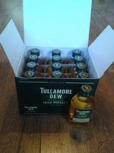 Tullamore Dew Irish Whisky Miniatures price glitch £1.00 @ Asda instore