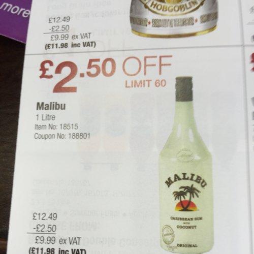 Malibu 1 litre £11.98 @ Costco