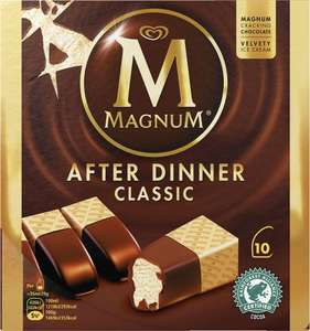 Magnum After Dinner Classic Ice Cream (10 x 35ml) was £3.50 now ONLY £2.00  Sainsbury's