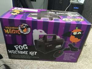 Aldi Fog Machine + 1lt Fog Juice, 3 year warranty - was £30, now £5!