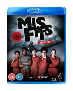 Misfits Series 2 Blu-Ray £1.00 instore at Poundland Huddersfield