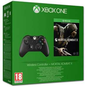 Xbox One Wireless Controller + Mortal Kombat X (Digital Download) & 14 Days Gold (Xbox One) £54.95 Delivered @ Coolshop
