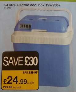 24 LTR Hot/Cool box £29.99 @ JTF