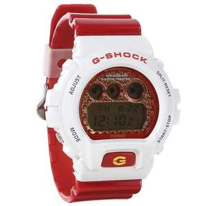 CASIO G-SHOCK DW6900SC-7ER WATCH - RED/WHITE - was £94.95 and now at £28.49 FREE delivery @ urbanindustry