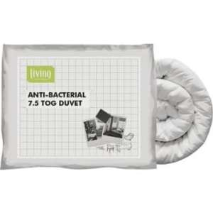 Living Anti-bacterial 7.5 Tog Duvet - Single £5.99 @ Argos