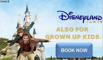 Disneyland® Paris 2015 Park Tickets Cheapest in GBP £42 @ Travel Republic