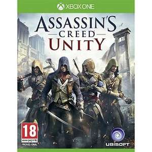 Assassins creed unity: xbox one game £20.00 @ John Lewis