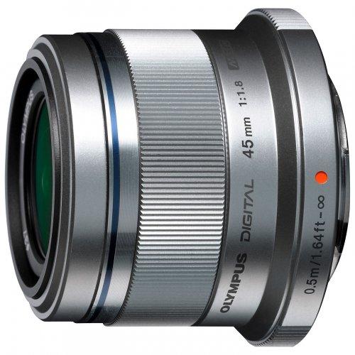 Olympus M.ZUIKO DIGITAL 45mm f/1.8G Standard Lens,Silver £149.95 + £30 cashback. Clearance at John Lewis.