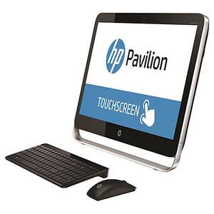 "HP Pavilion TouchSmart 23-p255na All-in-One Desktop PC, Intel Core i5, 8GB RAM, 2TB, 23"" Touch Screen, Black @ John Lewis £149.95"