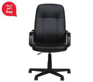 Riley Office Chair - Buy One Get One Free - 2 For £49.00 (Free C&C) @ Tesco Direct
