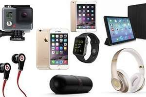 Electronics Mystery Gift (£7.98-£16.98) With Chance to Receive an Apple Watch, iPhone 6, iPad, GoPro or Beats Headphones £7.98 @ Groupon