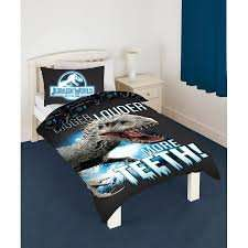 Jurassic world glow in the dark single bedding set £14.99 instore and online this is £20+ everywhere else @ Home Bargains