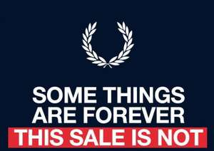 Fred Perry Summer Sale