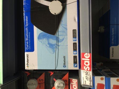 Polaroid Curve Bluetooth Speaker £17.50 asda instore