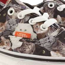 meowsers! vans kitty cat trainers £52 down to £35 at schuh.... purrrrrfect