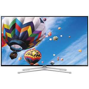 "Samsung UE50H6400 LED HD 1080p 3D Smart TV, 50"" with Freeview HD, Voice Control, Built-In Wi-Fi and 2x 3D Glasses £549 at John Lewis, with 5 year warranty."