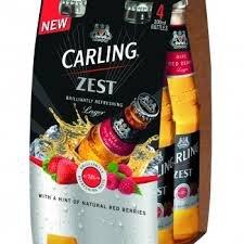 Carling Zest 4 pack £1 @ Filco Foods