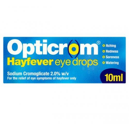 Sodium Cromoglicate Hayfever Eye Drops half price  £2.60 Tesco