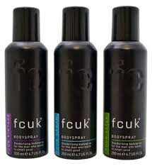 Fcuk Bodyspray Deodorant Trio @ Boots for £5 (Normally £10)