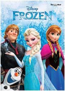 Free Frozen Poster With the Sunday Mail this weekend, Free Frozen DVD next weekend