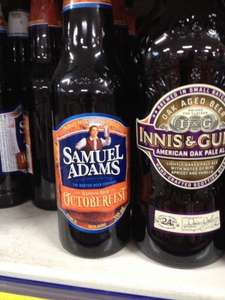 B&M Samuel Adams Winter Lager and Octoberfest beer for 79p per 330ml bottle