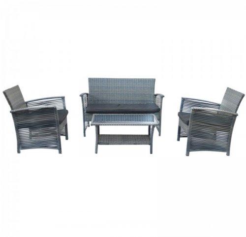 Bentley Garden 4 Piece Rattan Furniture Set £99 buydirect4u