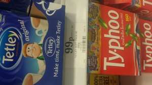 Tetley Tea Bags 80 pack just 99p at Home Bargains
