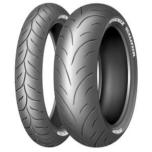 Dunlop Qualifier Motorcycle Tyre Pair Deals M&P £99.99 + Carriage (Various Sizes)