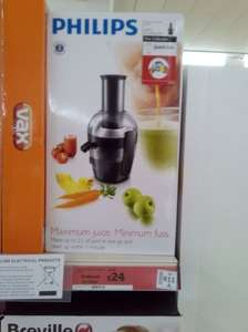 Philips HR1836/01 Viva Collection Compact Juicer, 1.5 Litre, 500 Watt - Black. £79.99 down to £24 in store @ Sainsburys