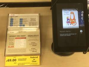 Kindle fire hd 8gb £69 reduced to clear tesco (durham)