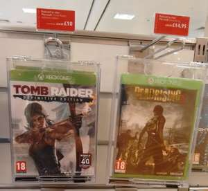 Xbox One Tomb Raider Definitive Edition £10 at John Lewis