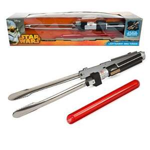 Star Wars Lightsabre BBQ Tongs!!!  £19.67 (Prime) £22.97 (Non Prime) - Gadget Grotto Fulfilled by Amazon.