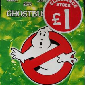 Ghostbusters 1 & 2 dvd special edition £1 Instore at Smyths