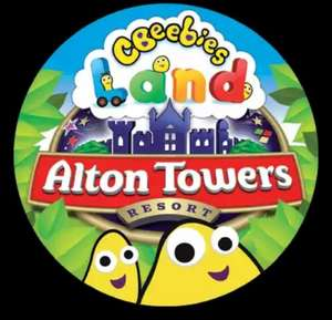 Alton Towers (CBeebies Land) 2 tickets for £1 with sun+ subscription