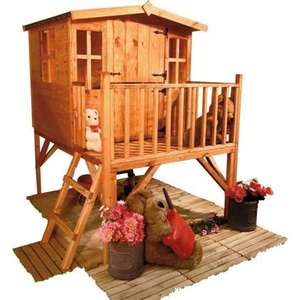 BillyOh - 4x6ft Junior Tower Playhouse £173.94 delivered @ Homebase