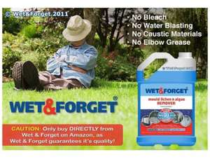 Wet & Forget Patio Cleaner £18.99 @ Costco Glasgow