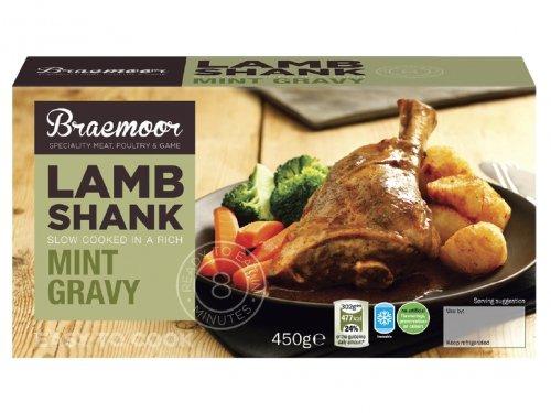 BRAEMOOR 450g Lamb Shank £2.99 at LIDL