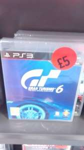 Gran Turismo 6 PS3    £5 instore at Sainsburys