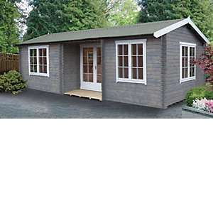 Shire Elveden 2 Room Log Cabin 26X14 £5699.99 delivered @ Wickes