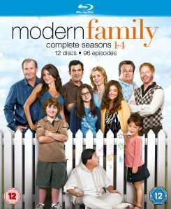 Modern Family 1-4 on Blu-ray £17.99 with code at Zavvi