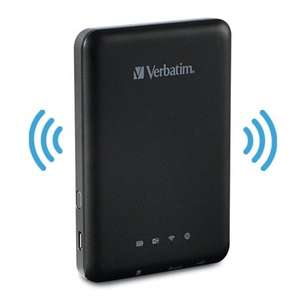 Verbatim MediaShare Wireless - Reader and Media Streamer Plus Device Charger £23.99 @ memorybits