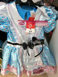 Half Price Alice in Wonderland girls fancy dress £7.50 at  Sainsburys Bridgemeadi Swindon