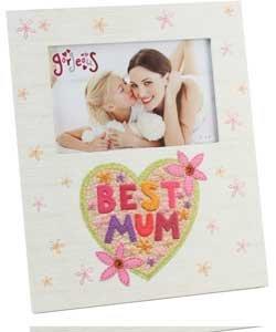 Best Mum Photo Frame. £2.49 @ Argos