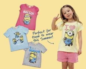'BANANA!' Minion T-Shirts at Aldi: £2.99