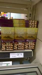 3 x Cafe De Lucca's Wafers For £1 @ Farmfoods