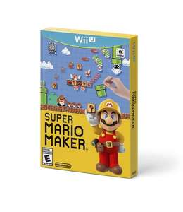 Super Mario Maker w/artbook  £29.99 WiiU (OR £26.99 w/new account) @ Zavvi,