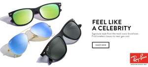 Any 2 pairs of rayban glasses for £200 @ Sunglasses Huut