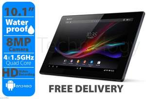 Refurbished UNLOCKED Sony Xperia Z 10.1 Slim Tablet - 16GB - SGP321- WiFi + 4G - Waterproof Android 5.0 Lollipop £104.99 @ sps1999 / ebay