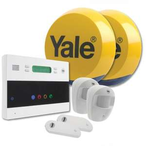 Yale easy fit wireless alarm system £191.24 @ Amazon