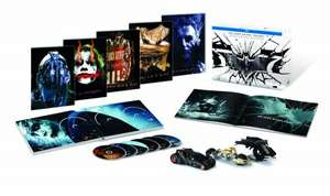 Batman - The Dark Knight Trilogy [Blu-ray] [Limited Collector's Edition] £29.60 delivered to UK from Amazon.de